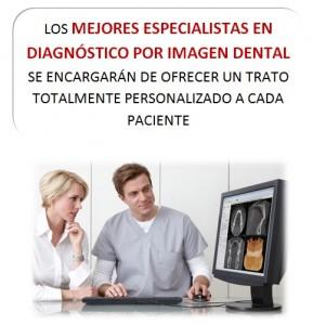 Especialistas en diagnóstico por imagen dental